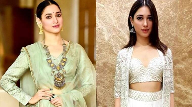 Tamannaah Bhatia's desi style for Baahubali 2 promotions is simply gorgeous