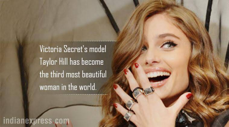 taylor hill, world's most beautiful women list, priyanka chopra, taylor hill image