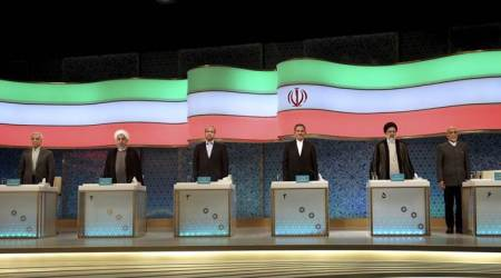 Iran, Tehran presidential debate, Tehran mayor, Mohammad Bagher Qalibaf, President Hassan Rouhani, Rouhani adminstration, Iran news, world news, indian express news