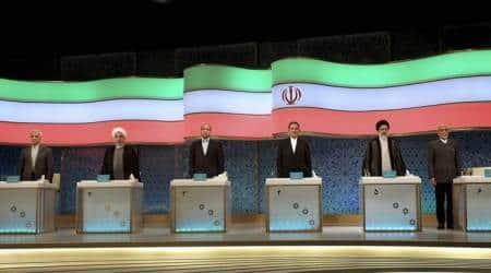 Iran, Tehran presidential debate, Tehran mayor, Mohammad Bagher Qalibaf, President Hassan Rouhani, Rouhani adminstration, Iran news, world news, indian express news