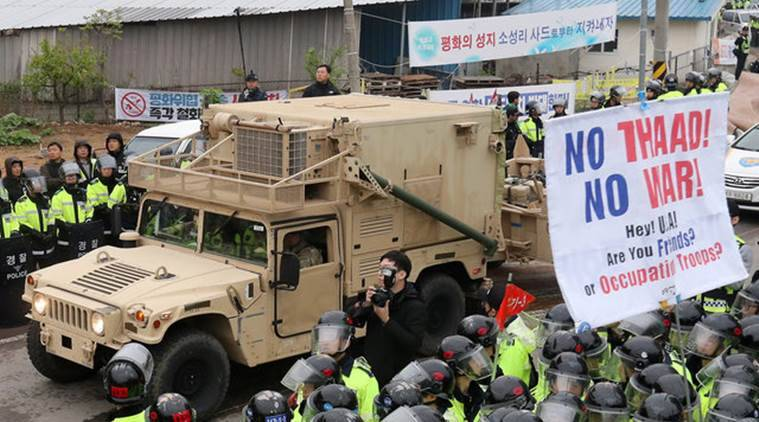 Korea installs parts of contentious US missile defense