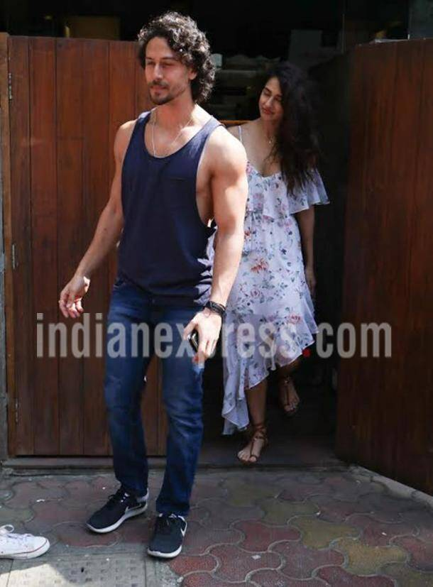 tiger shroff, disha patani, tiger disha, bollywood couple
