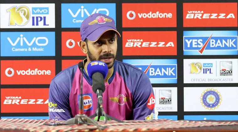 ipl 2017, ipl, ipl 10, indian premier league, rcb vs rps, bangalore vs pune, manoj tiwary, rising pune supergiants, cricket news, ipl news, cricket, indian express