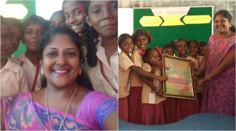 tamil nadu, government schools, tamil nadu panchayat school, panchayat schools infrastructure, teacher sell jewellery for students, tamil nadu teacher sold jewellery for students, tamil nadu news, latest news, good news, indian express