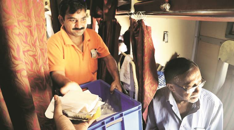 CAG Report on Railway Food, CAG on Railway Catering, food under unhygienic conditions Railway catering, CAG Unhygienic food on trains, IRCTC Train food, Indian Railways food, Indian Express news
