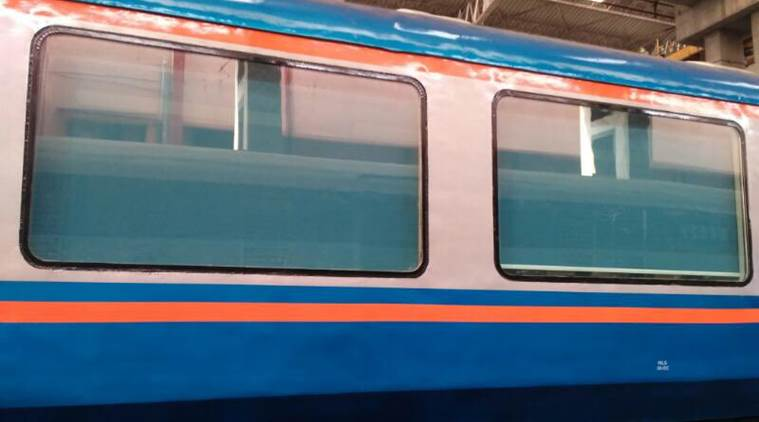 Suresh Prabhu flags off trial run of 'vistadome' coaches, shares photographs