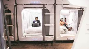 A 'pod' to stay in for budgettravellers