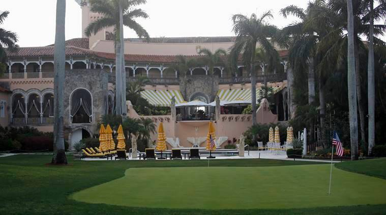 Donald Trump Florida resort, Mar-a-Lago resort Donald Trump shooting, Trump florida resort shooting, indian express