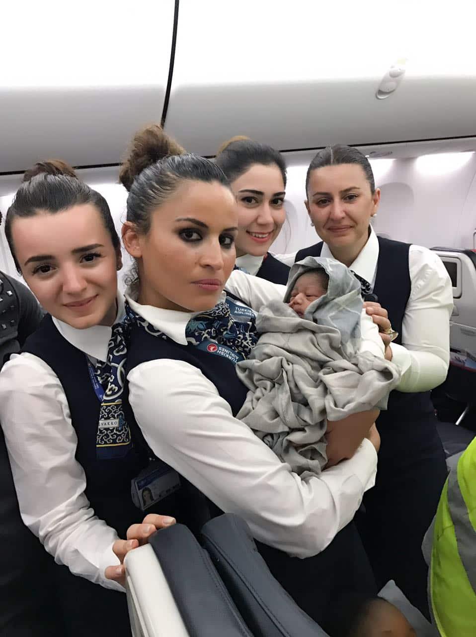 Turkish airlines, baby born turkish airlines, baby born mid flight, baby born mid air, baby born turkish airline mid flight, in-flight child birth, viral news, turkey news, world news, latest news, indian express
