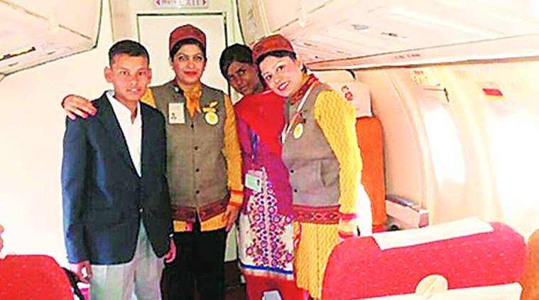 Himachal Pradesh: On inaugural UDAN flight, it was dream come true for two orphans