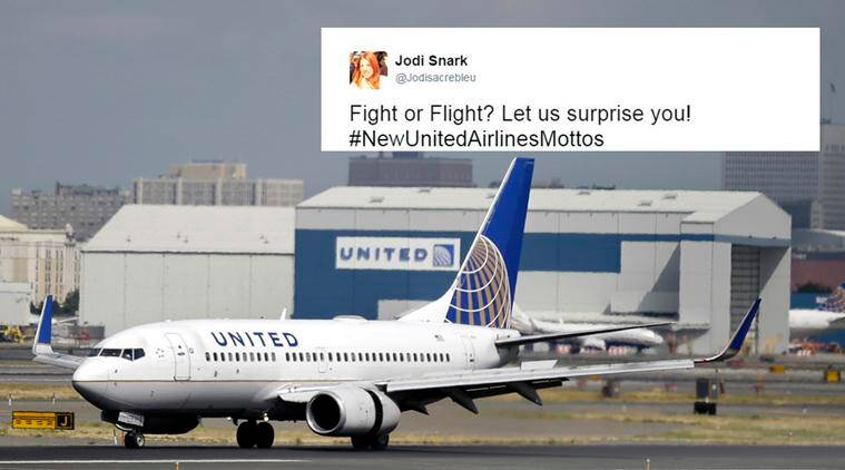 united airlines, united airlines new motto, twitterati united new motto, united rival airline troll, Emirates united airlines, Royal Jordanian, united airline passenger dragged