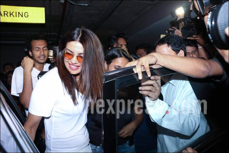 Priyanka Chopra is back in the city and fansare going bonkers!