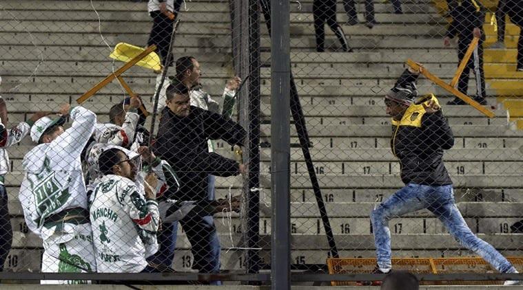 Some 30 fans arrested, 18 police injured in footballviolence