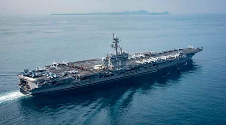 US Navy, US Navy fleet, US naval ships, US Navy news, world news, indian express news