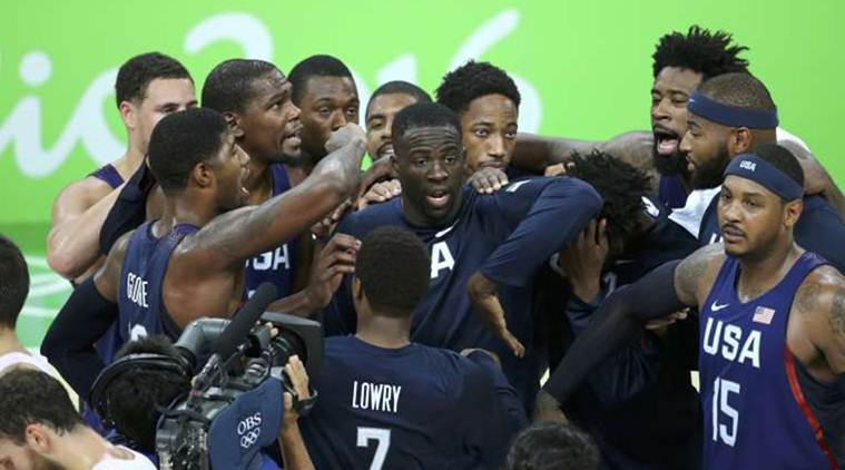 US men's basketball team begins 2020 Olympic road in Uruguay