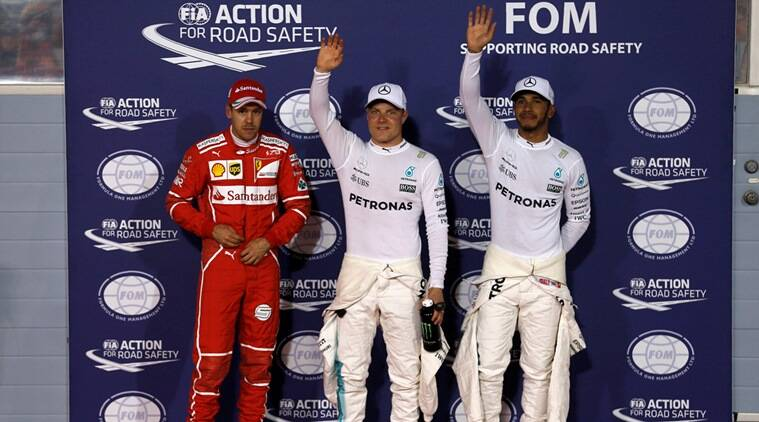 Valtteri Bottas, Valtteri Bottas news, Valtteri Bottas updates, Bahrain Grand Prix, Bahrain Grand Prix news, formula one, Lewis Hamilton, sports news, sports, Indian Express