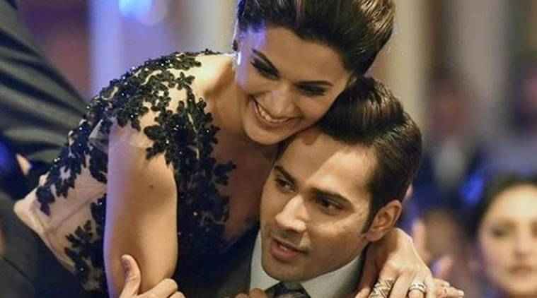Varun Dhawan, Varun Dhawan news, Judwaa 2, Taapsee Pannu, Oonchi Hai Building, Oonchi Hai Building varun dhawan, Varun Dhawan Taapsee Pannu Judwaa 2, Judwaa 2 song, Judwaa 2 varun dhawan Taapsee Pannu, varun dhawan Taapsee Pannu, varun dhawan Taapsee Pannu judwaa 2, varun dhawan Taapsee Pannu Oonchi Hai Building, salman khan, Taapsee Pannu news, entertainment news, indian express, indian express news