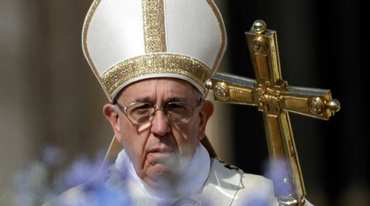 Pope Francis, Easter Sunday, Vatican City on Easters, Good Friday, Pope Francis on Easter, Vatican City security concern, world news, indian express news