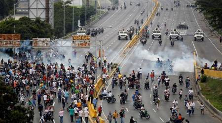 Venezuela President Nicolas Maduro alleges 'coup plot', protests grow