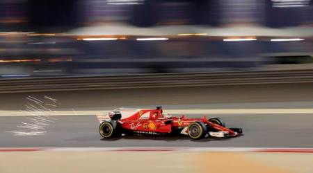 bahrain grand prix, bahrain gp, sebastian vettel, vettel, bahrain f1, f1 news, f1, sports news, indian express