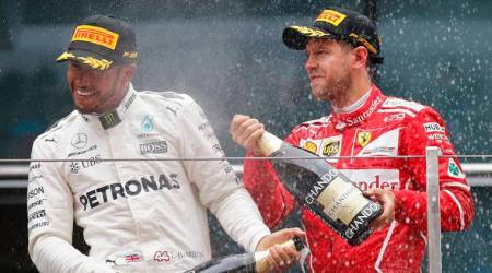 Sebastian Vettel, lewis hamilton, formual one, f1, formula 1, chinese gp, sports news, indian express