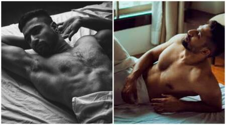 Vicky Kaushal sheds his chocolate boy image, bares it all in this racy photoshoot. See pics