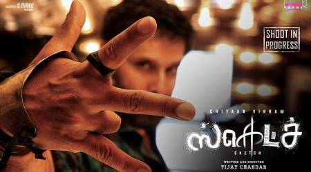 Sketch first look: Is Chiyaan Vikram playing the role of a local goon? Seepics
