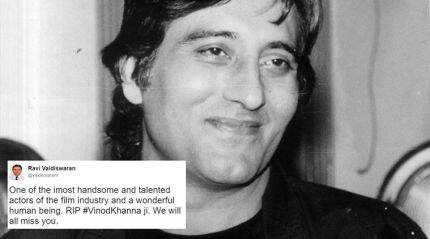 Vinod Khanna dies at 70; Twitterati mourns the heartthrob's demise