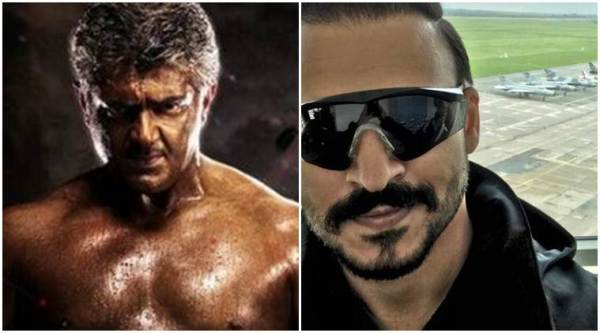 vivegam, ajith, vivek oberoi, vivegam vivek oberoi, vivek oberoi ajith, vivegam ajith, teaser, vivegam ajith look, vivegam picture, vivegam ajith body, ajith new body, vivegam star cast, Vivek Oberoi bollywood actor, kamal haasan, entertainmnet news, indian express news