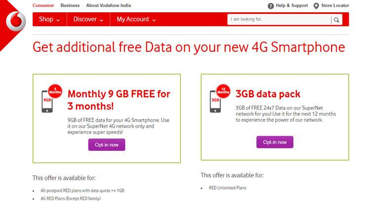 Vodafone is giving 27GB 4G data free for three months: Here's how to