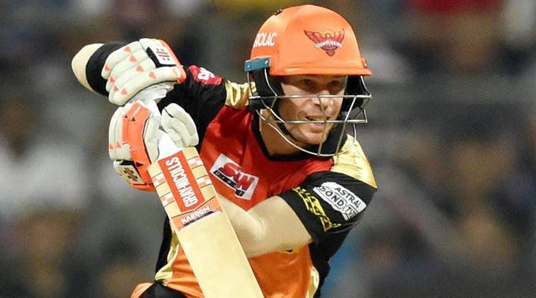 Sunrisers Hyderabad score 159/6 against Kings XI Punjab