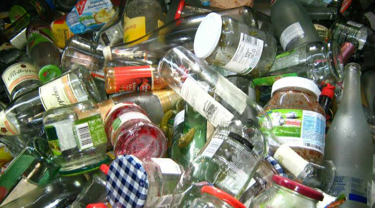 recycling programs, glass bottles, high purity silicon nano particles, conventional graphite anodes, nano scale, lithium half cell batteries, nanosilicon, Science, Science news