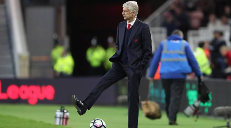 Arsene Wenger, Wenger, Arsene Wenger Arsenal, Arsene Wenger Arsenal contract, Arsene Wenger contract, Arsenal Premier League, Premier League, Football news, Football, Sports news, Sports, Indian Express