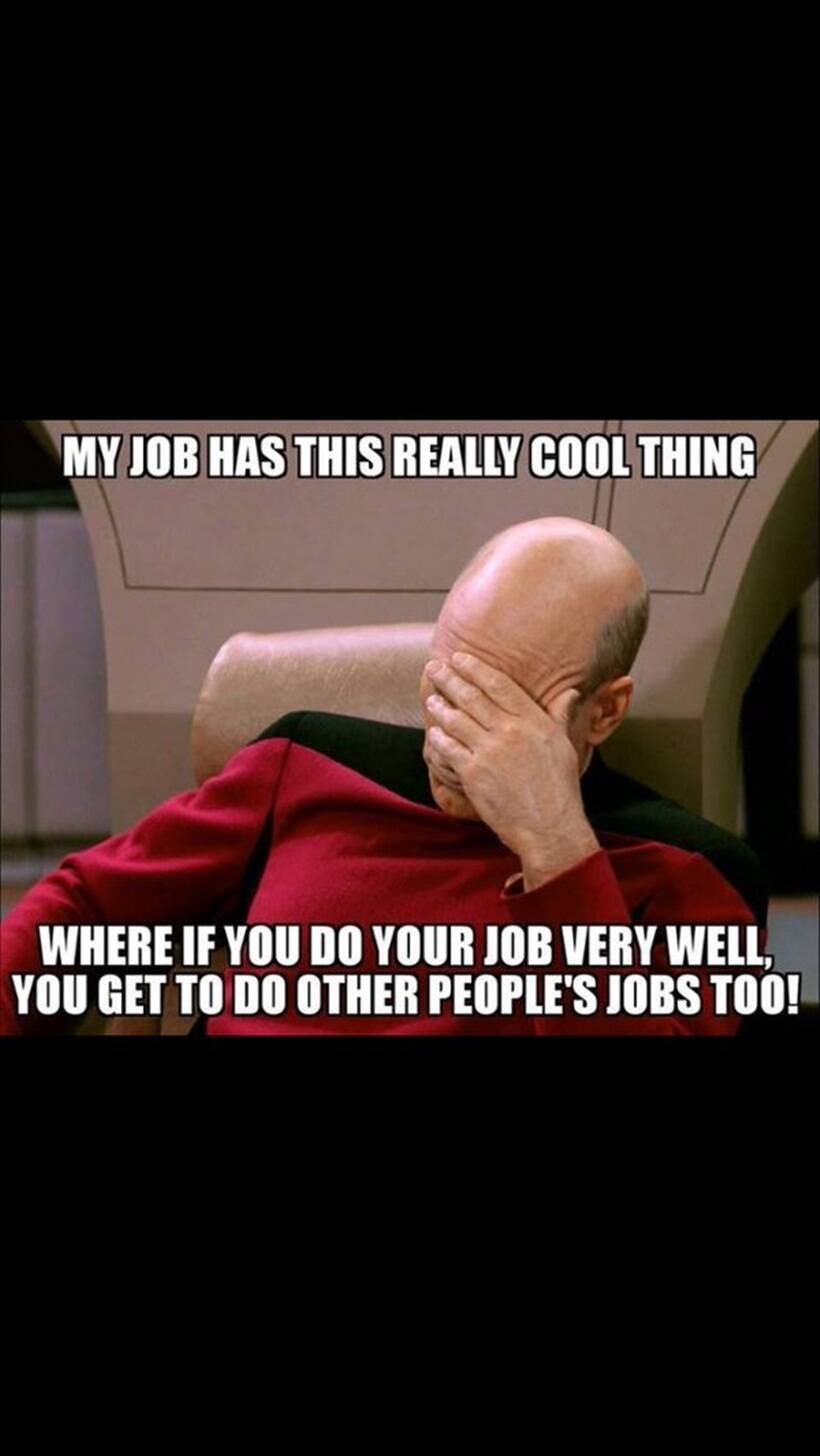 Talking to friends too much work? Tell me again how much ...  |Too Bad Work Meme