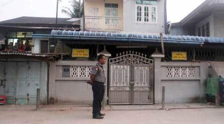 Buddhist monks, supporters force closure of Muslim schools inMyanmar