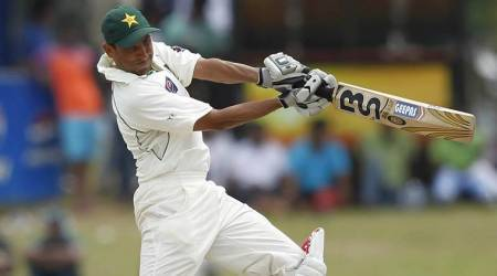 younis khan, younis khan record, west indies, pakistan cricket, wi vs pak, wi vs pak cricket, wi vs pak 1st test, cricket news, sports news, indian express