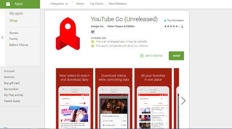 you tube go download