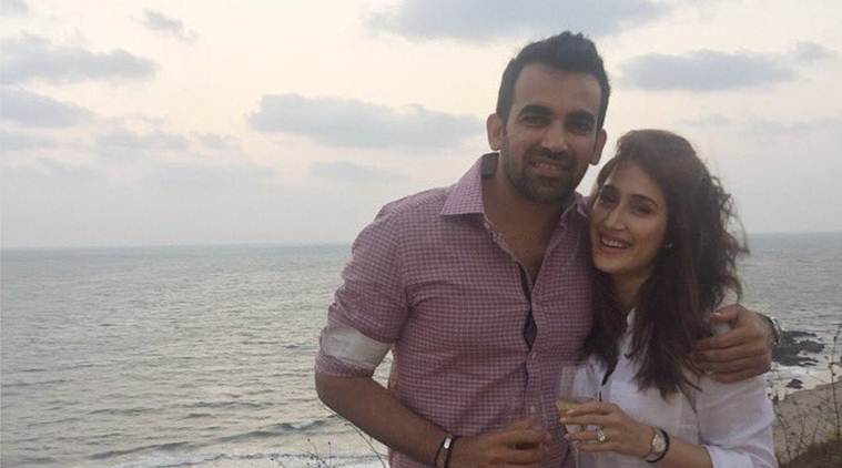 Indian cricketer Zaheer Khan announced his engagement with Bollywood actress Sagarika Ghatge