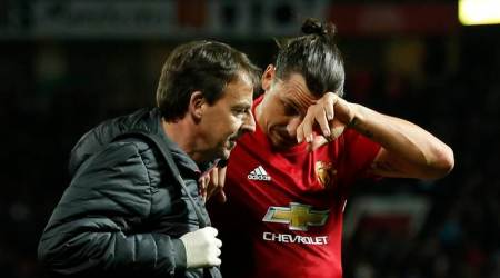Zlatan Ibrahimovic, Anderlecht, Manchester United, Ibrahimovic, Marcus Rashford, Phil Jones, Chris Smalling, Europa League, injury, football news, sports news, Indian Express