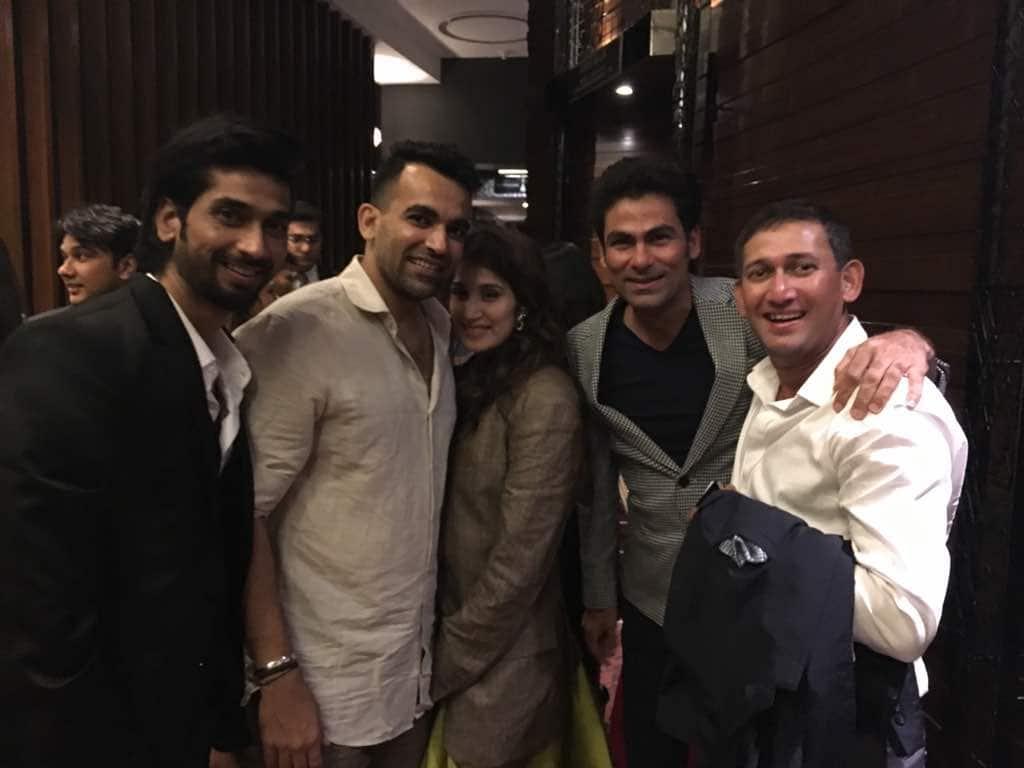 Zaheer Khan, Sagarika Ghatge, Virat Kohli, Anushka Sharma, Yuvraj Singh, Rohit Sharma, Zaheer Sagarika engagement, cricket, sports news