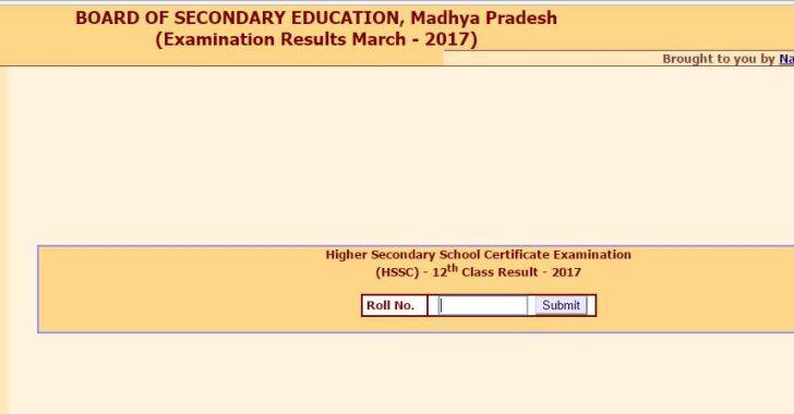 Madhya Pradesh HSC, HSSC class 10, 12 exams 2017: Results available