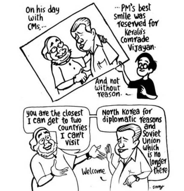 Narendra Modi's three years in power through 20 cartoons
