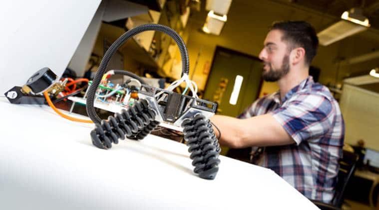 3D printed four-legged robot, robotics, robot, science news, latest news, indian express news