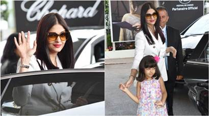 Aishwarya Rai Bachchan, daughter Aaradhya's first Cannes 2017 outing is all kinds of adorable