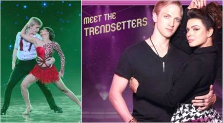 Nach Baliye 8: Aashka Goradia's fiancé Brent Goble faces ankle injury, but they continue to shoot. Watch videos