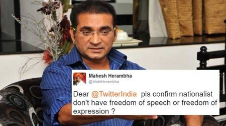 Abhijeet Bhattacharya's Twitter account suspended; some Twitter users agree, others say this is 'denying freedom of expression'