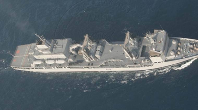 Indian warships, INS Mumbai, INS Aditya, Egyptian port city, Alexandria, Indian warships at Alexandria, Indian Express, Indian Express News