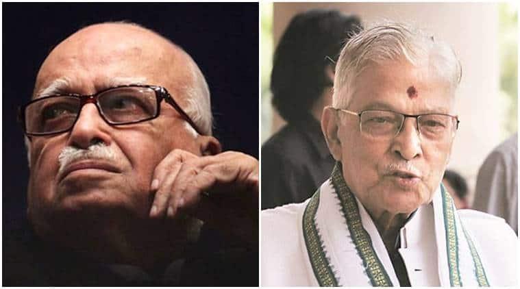 murli manohar joshi, l k advani, lok sabha elections, kanpur lok sabha seat, gandhinagar lok sabha seat, election news, indian express