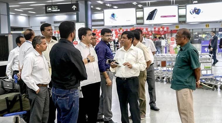 Ahmedabad airport, Ahmedabad airport revamp, Sardar Vallabhbhai Patel International airport, NID, NID revamp ahmedabad airport, indian express news, ahmedabad news, india news