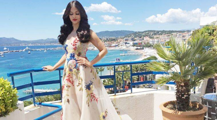 Amy Jackson looks elegant in sequined gown at Cannes 2017